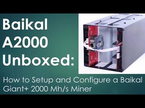 Baikal A2000 Unboxed: How to Setup and Configure the Baikal Giant+ 2000 Mhs