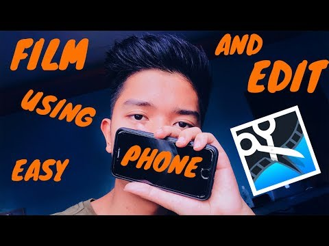 HOW I FILM AND EDIT WITH MY IPHONE FT. MOVAVI
