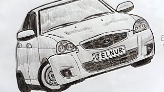 Abune ol _ Подписывайтесь на Мой Канал  Priyora seklini nece cekmek lazimdir(Ehedov Elnur)Как нарисовать Ладу Приору карандашом поэтапно  Production Music courtesy of Epidemic Sound!
