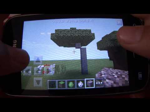Minecraft PE 0.9.0 review CZ/HD