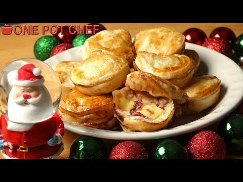 Christmas Ham and Cheese Pies | One Pot Chef