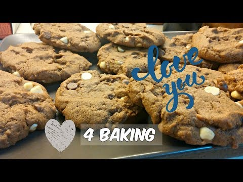 About Cooking   Soft And Chewy Chocolate Peanut Butter Cookies