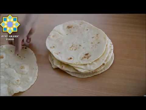 Shawarma bread - Syrian recipe - just Arabic food