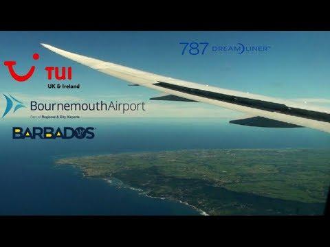 TUI Boeing 787-8 G-TUIE I Bournemouth to Barbados I Economy I *Full Flight*