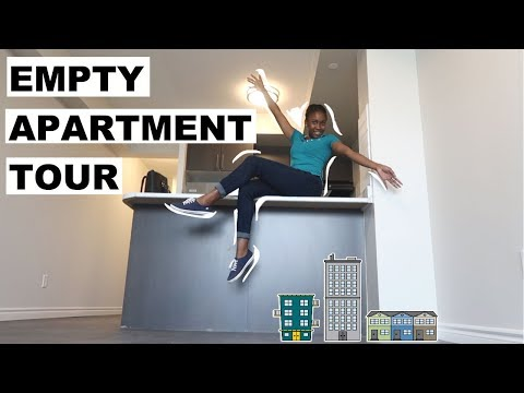Empty Apartment Tour!!