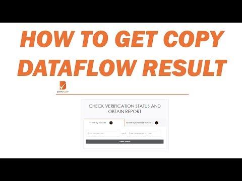 How to get Dataflow Result?
