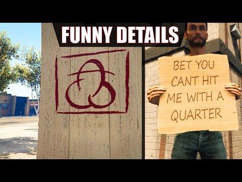 GTA V - Funny small Details