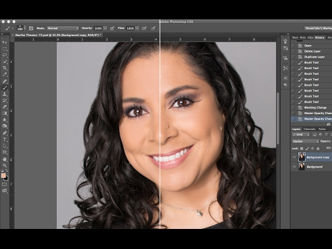 Easiest Way to Remove Shine in Photoshop