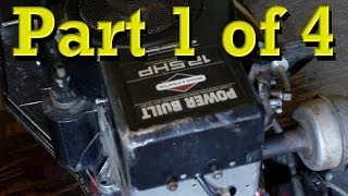 Teardown and Inspection of Briggs and Stratton 12 5 HP I/C Flathead