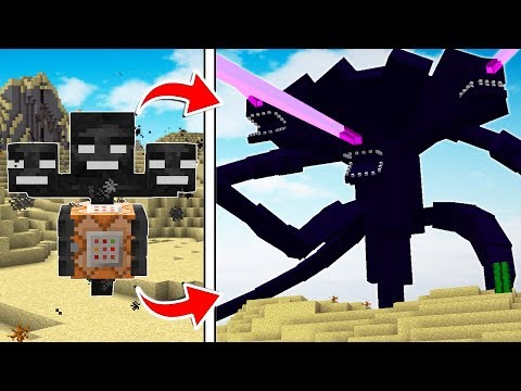 LIFE OF THE WITHER STORM MINECRAFT BOSS!!