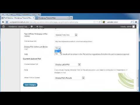 How to Create a Wordpress Poll