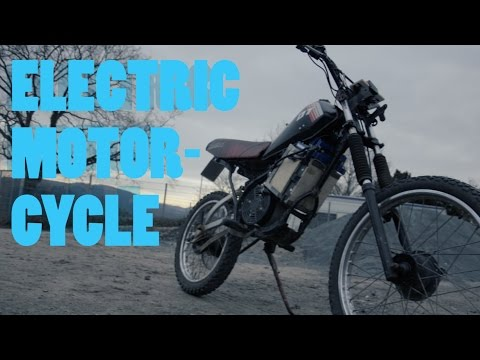 Homemade Electric Motorcycle