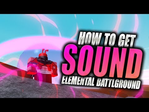 HOW TO GET SOUND ELEMENT! All 3 Scroll Locations! Elemental Battlegrounds Event in Roblox