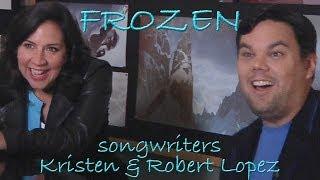 DP/30: Frozen songwriters Kristen Anderson-Lopez, Robert Lopez
