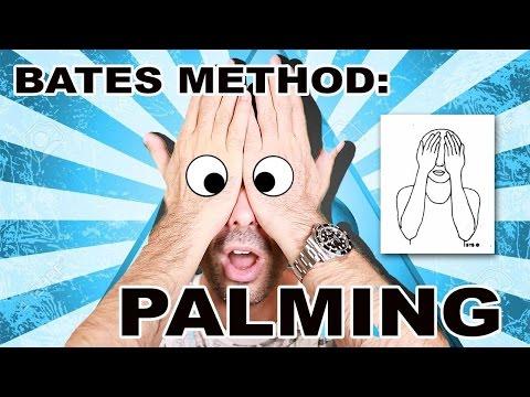 Eye Exercises Improved Eyesight In 34 Days: PALMING?! (Bates Method)