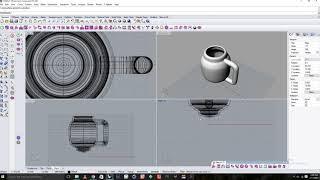 Model a mug with Rhinoceros