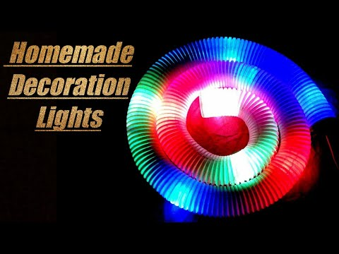 How To Make Home Decoration Lights At Home Easy Diwali/ Christmas Light Decoration Ideas For Home