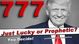 THE TRUMP INAUGURATION PROPHECY! - The numbers may have indicated it in advance!