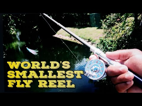 Micro Fly Fishing Reel!!!  World's Smallest