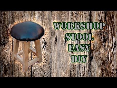 Workshop stool DIY