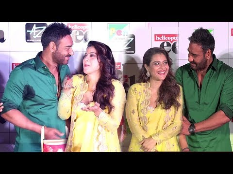 Xxx Mp4 Kajol Showing LOVE Amp AFFECTION For Husband Ajay Devgan Amp Doing MASTI With Him In Public 3gp Sex