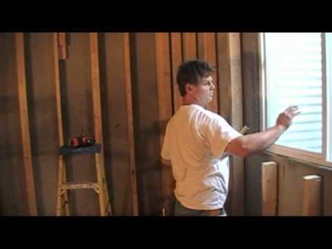 Basement Finishing Video (Framing Basement Windows)