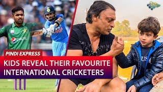 Kids Revealing Their Favourite International Cricketers | Virat Kohli | Babar Azam | Shoaib Akhtar