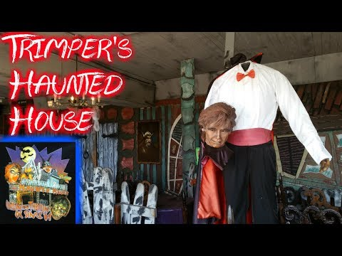 Classic Dark Ride - Trimper's Haunted House 2017 - Ocean City, Maryland