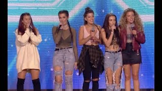 Beau Road Girls Fighting For A Chair | Six Chair Challenge | The X Factor UK 2017