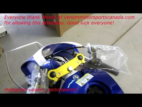 New 2016 49cc M1 Giveaway Pocket Bike Unboxing