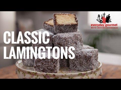 Classic Lamingtons | Everyday Gourmet S6 EP45