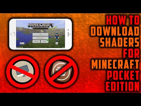 How to download Shaders Pack in Minecraft Pocket Edition on iOS (No Jailbreak, No Computer)