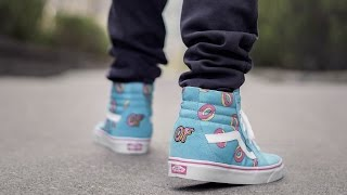 8ee69e1c39 MOST AFFORDABLE HYPE COLLAB SNEAKER (ODD FUTURE VANS SK8 HI ON FEET REVIEW