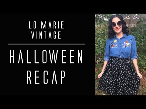 Goodbye, October! Halloween Recap from Lo Marie Vintage