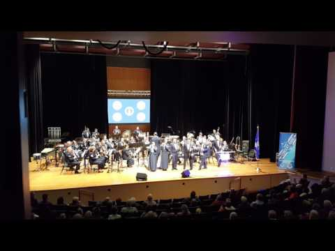 Stars and Stripes - USAF Band of Mid-America Concert Band
