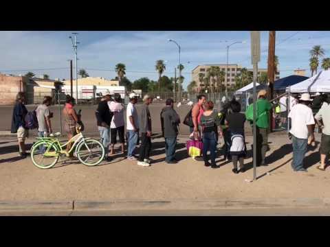 Phoenix Arizona Homeless Charity Event