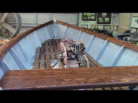 152 Boat Work, Gunwales and Bimini Top