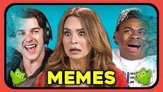 YouTubers React to Memes: Avengers, Duolingo, MF Tea
