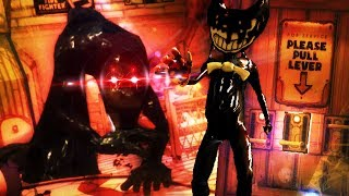 SECRET NEW GIANT BOSS FIGHT IN CHAPTER 3!!!- Bendy and The Ink Machine Chapter 3 Secret Update