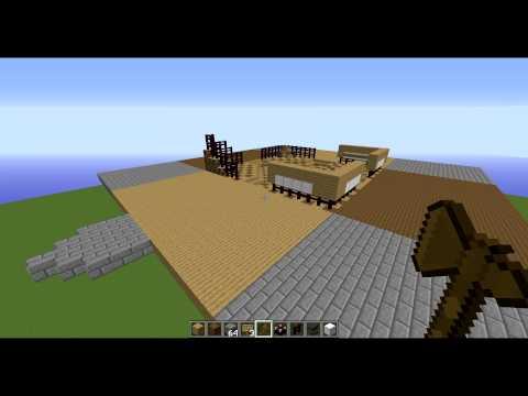Minecraft Prison Server Spawn Speed-Build