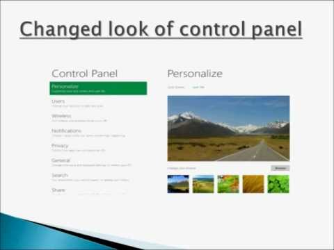 Windows 8 features list new fully explained