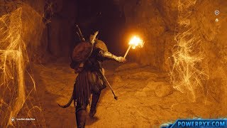 Assassin's Creed Origins - Tomb of Khufu Walkthrough & Location (Great Pyramid of Giza Tomb)