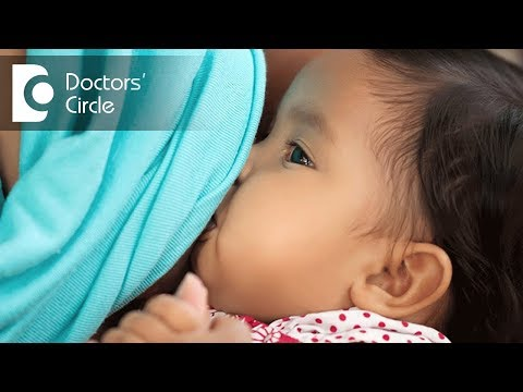 What causes an infant to sweat on left side while breastfeeding? - Dr. Varsha Saxena