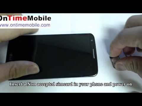 How to Check Ur IMEI and How to unlock LG G2 D800 D801 D802