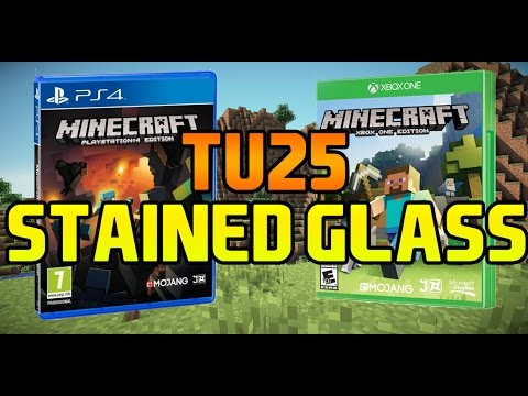 Minecraft | TU25 | Stained Glass | PS4, Xbox One, Xbox 360, PS3 & Ps Vita
