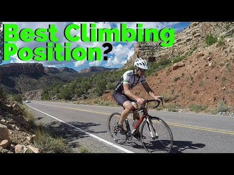Best Climbing Position? // Cycling on the Colorado National Monument