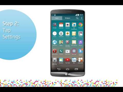 LG G3 : Turn on/off data roaming services