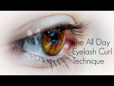THE ALL DAY EYELASH CURL TECHNIQUE