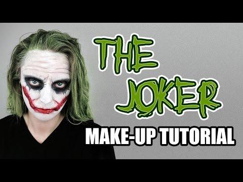 The Joker Make-Up Tutorial Based on Heath Ledger