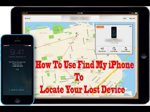 How To Use Find My iPhone To Locate Your Lost Device | Find My iPhone metode 2017